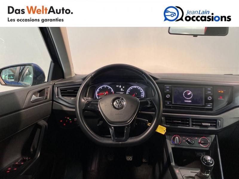Volkswagen Polo VI Polo 1.0 TSI 95 S&S BVM5 Trendline 5p Bleu occasion à Meythet - photo n°11