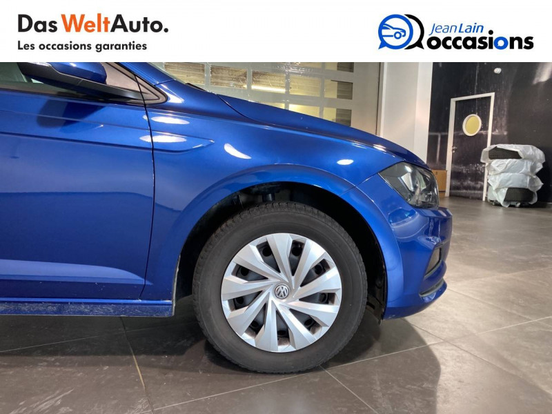 Volkswagen Polo VI Polo 1.0 TSI 95 S&S BVM5 Trendline 5p Bleu occasion à Meythet - photo n°9