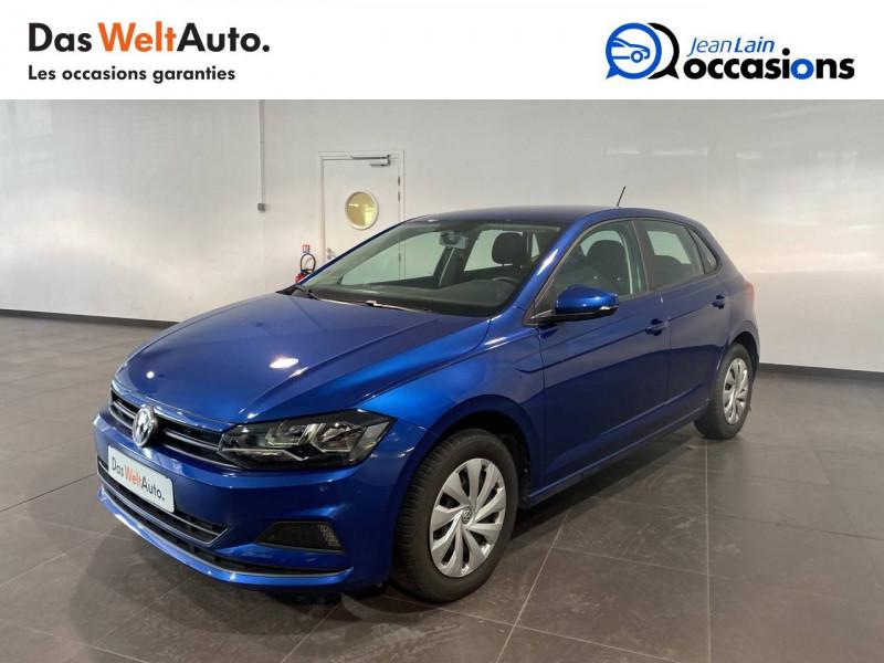 Volkswagen Polo VI Polo 1.0 TSI 95 S&S BVM5 Trendline 5p Bleu occasion à Meythet