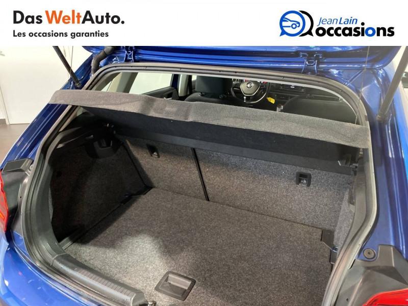 Volkswagen Polo VI Polo 1.0 TSI 95 S&S BVM5 Trendline 5p Bleu occasion à Meythet - photo n°10