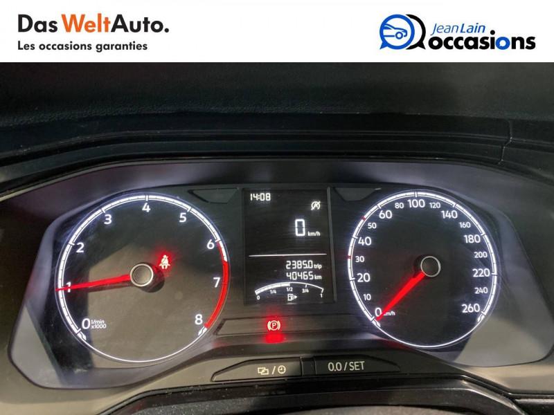 Volkswagen Polo VI Polo 1.0 TSI 95 S&S BVM5 Trendline 5p Bleu occasion à Meythet - photo n°16