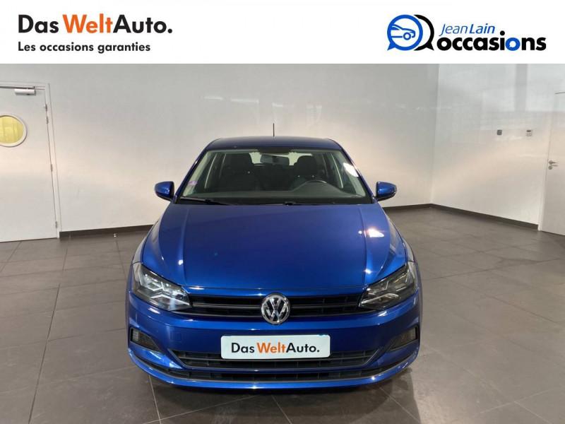 Volkswagen Polo VI Polo 1.0 TSI 95 S&S BVM5 Trendline 5p Bleu occasion à Meythet - photo n°2