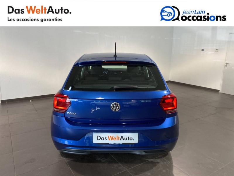 Volkswagen Polo VI Polo 1.0 TSI 95 S&S BVM5 Trendline 5p Bleu occasion à Meythet - photo n°6