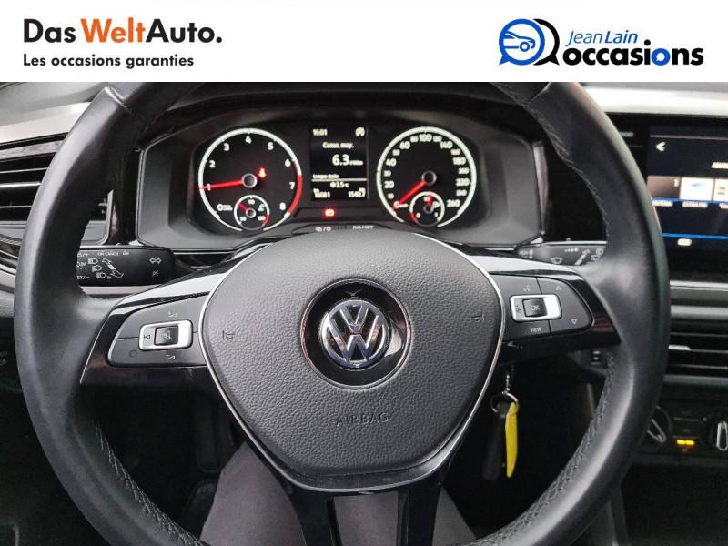 Volkswagen Polo VI Polo 1.0 TSI 95 S&S BVM5 Type Confortline 5p Blanc occasion à Bellegarde-sur-Valserine - photo n°12