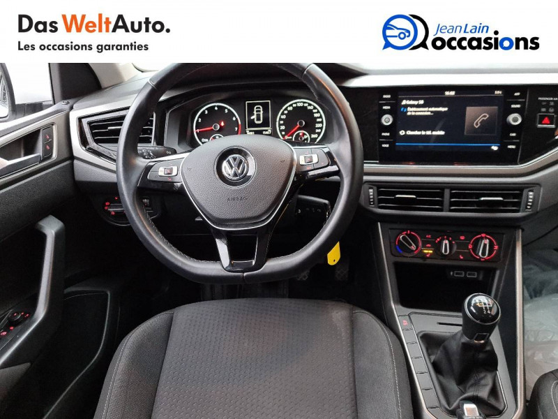 Volkswagen Polo VI Polo 1.0 TSI 95 S&S BVM5 Type Confortline 5p Blanc occasion à Bellegarde-sur-Valserine - photo n°18