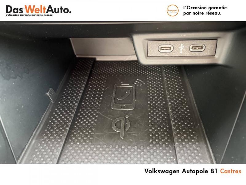 Volkswagen Polo VI Polo 1.0 TSI 95 S&S BVM5 United 5p Noir occasion à Castres - photo n°19