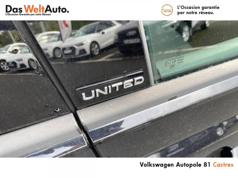 Volkswagen Polo VI Polo 1.0 TSI 95 S&S BVM5 United 5p Noir occasion à Castres - photo n°16