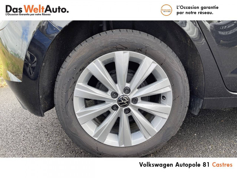 Volkswagen Polo VI Polo 1.0 TSI 95 S&S BVM5 United 5p Noir occasion à Castres - photo n°5