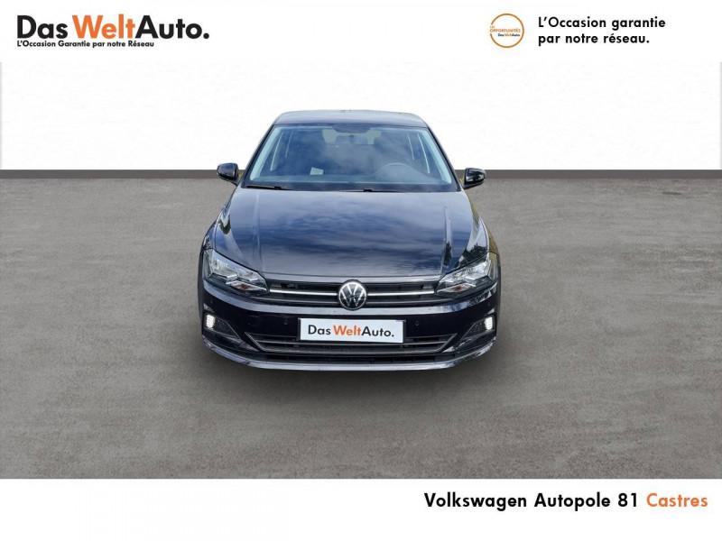 Volkswagen Polo VI Polo 1.0 TSI 95 S&S BVM5 United 5p Noir occasion à Castres - photo n°4