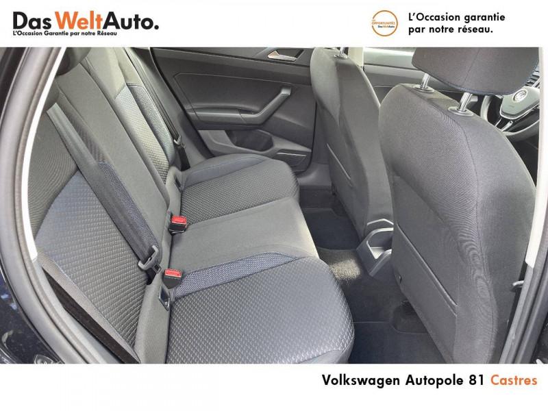 Volkswagen Polo VI Polo 1.0 TSI 95 S&S BVM5 United 5p Noir occasion à Castres - photo n°14