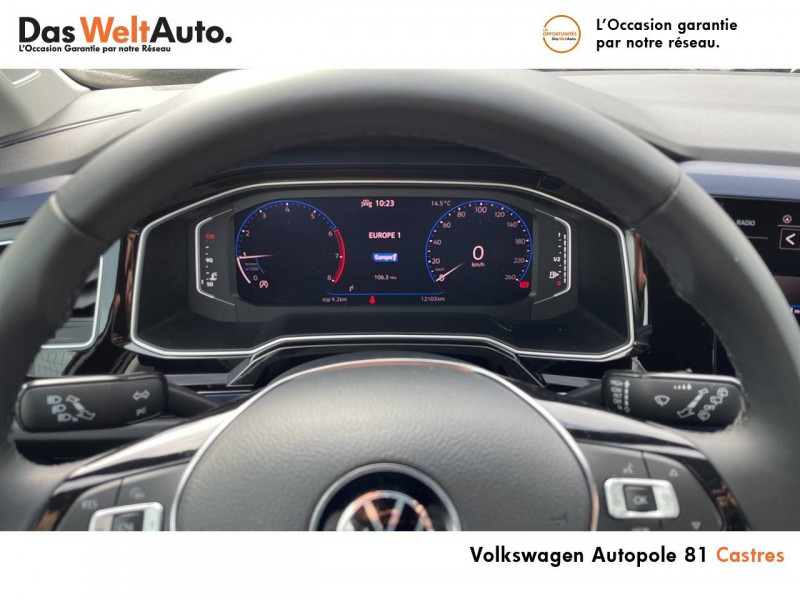 Volkswagen Polo VI Polo 1.0 TSI 95 S&S BVM5 United 5p Noir occasion à Castres - photo n°20