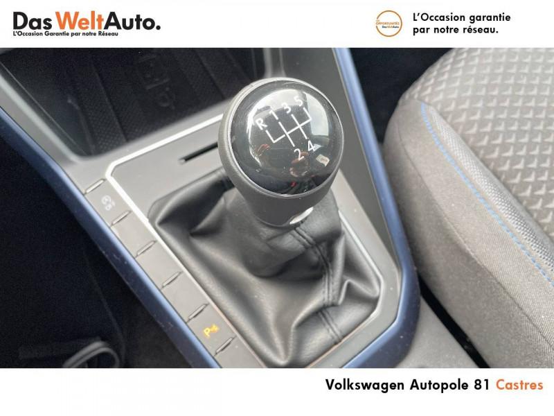 Volkswagen Polo VI Polo 1.0 TSI 95 S&S BVM5 United 5p Noir occasion à Castres - photo n°13