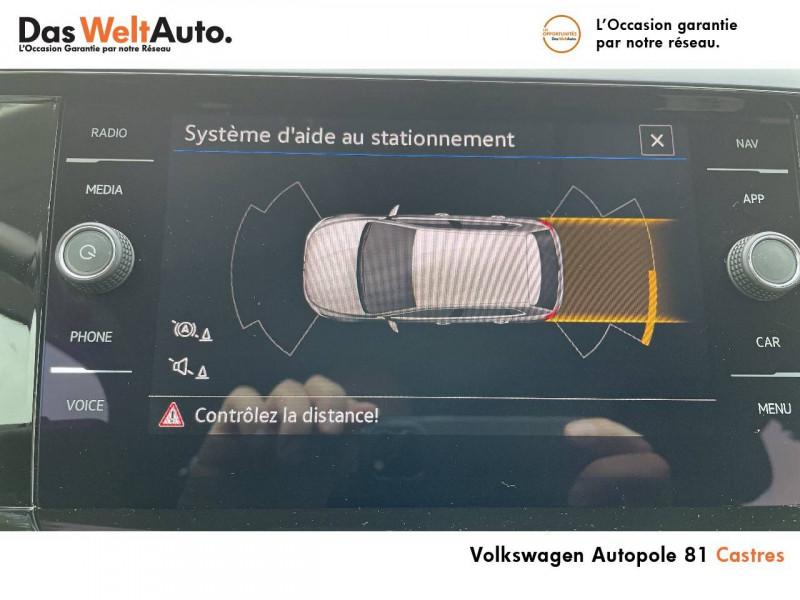 Volkswagen Polo VI Polo 1.0 TSI 95 S&S BVM5 United 5p Noir occasion à Castres - photo n°9