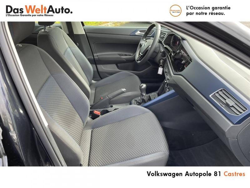 Volkswagen Polo VI Polo 1.0 TSI 95 S&S BVM5 United 5p Noir occasion à Castres - photo n°12