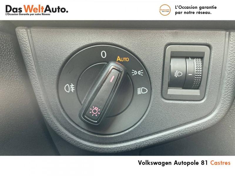 Volkswagen Polo VI Polo 1.0 TSI 95 S&S BVM5 United 5p Noir occasion à Castres - photo n°17