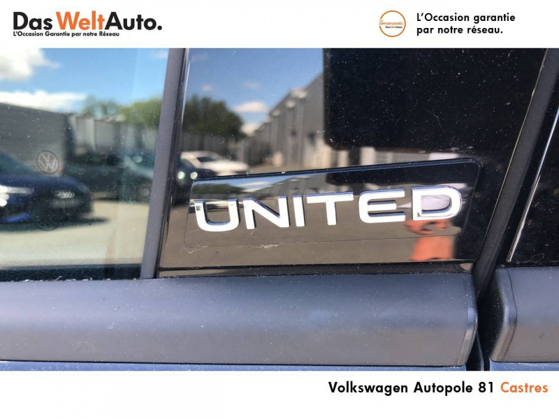 Volkswagen Polo VI Polo 1.0 TSI 95 S&S BVM5 United 5p Noir occasion à Castres - photo n°6