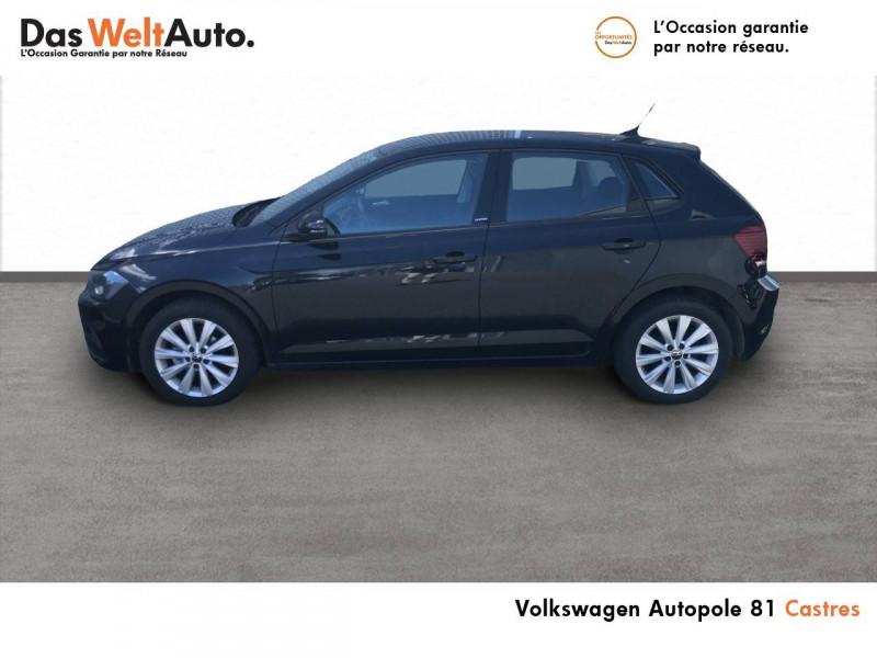 Volkswagen Polo VI Polo 1.0 TSI 95 S&S BVM5 United 5p Noir occasion à Castres - photo n°2