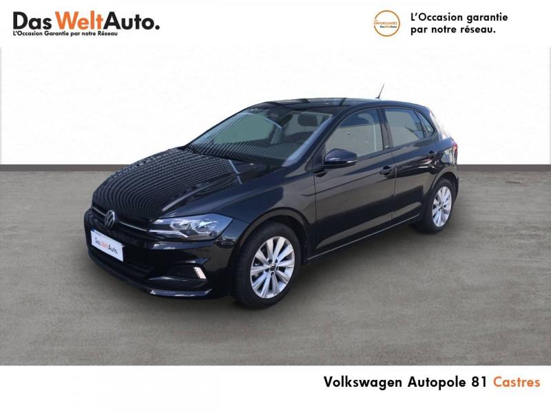 Volkswagen Polo VI Polo 1.0 TSI 95 S&S BVM5 United 5p Noir occasion à Castres