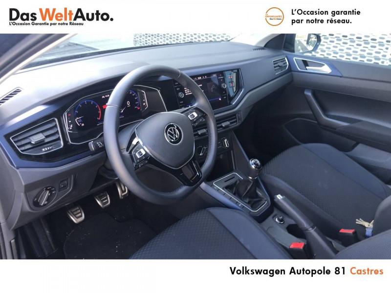 Volkswagen Polo VI Polo 1.0 TSI 95 S&S BVM5 United 5p Noir occasion à Castres - photo n°7