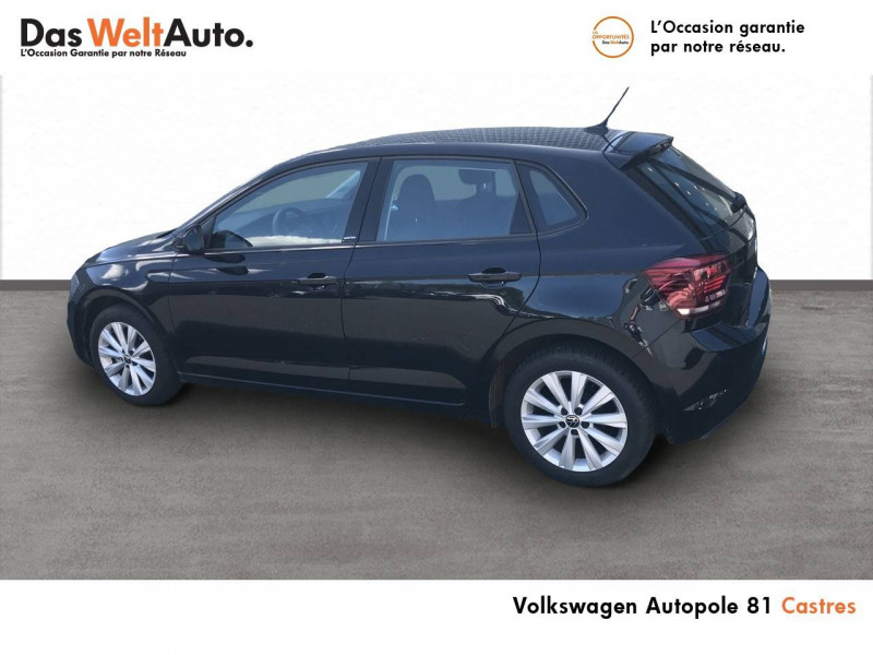 Volkswagen Polo VI Polo 1.0 TSI 95 S&S BVM5 United 5p Noir occasion à Castres - photo n°3