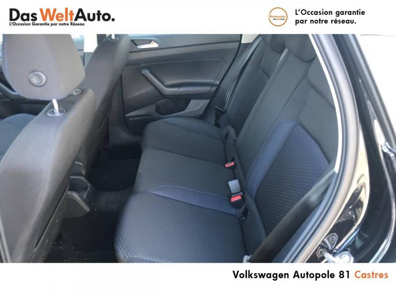 Volkswagen Polo VI Polo 1.0 TSI 95 S&S BVM5 United 5p Noir occasion à Castres - photo n°8