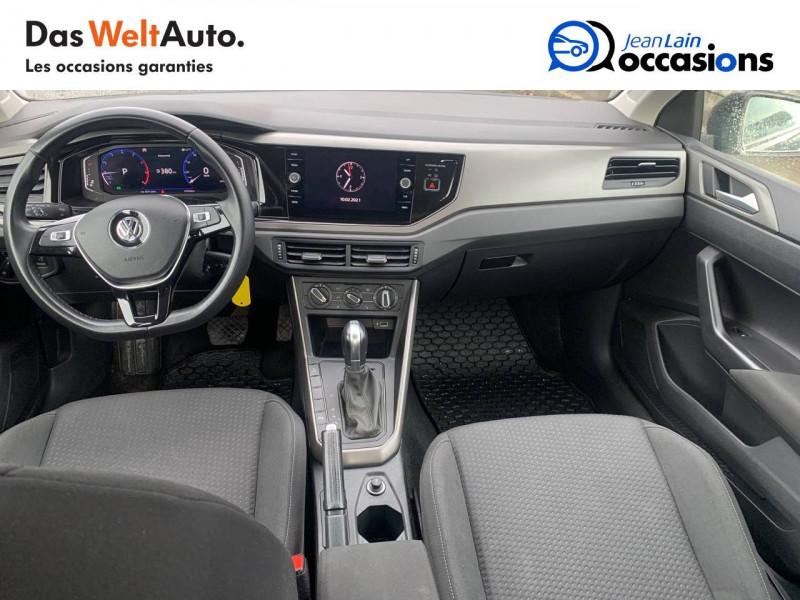 Volkswagen Polo VI Polo 1.0 TSI 95 S&S DSG7 Confortline 5p Noir occasion à Sallanches - photo n°18