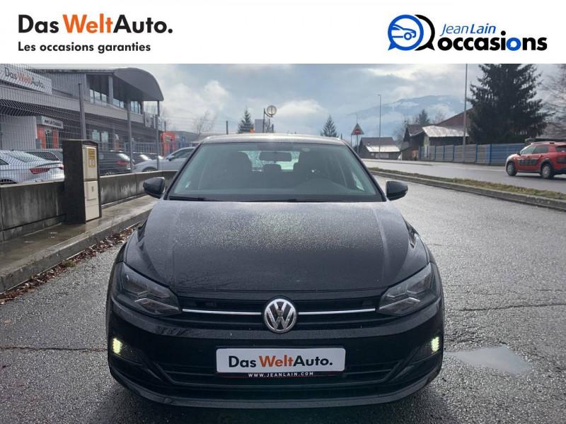 Volkswagen Polo VI Polo 1.0 TSI 95 S&S DSG7 Confortline 5p Noir occasion à Sallanches - photo n°2