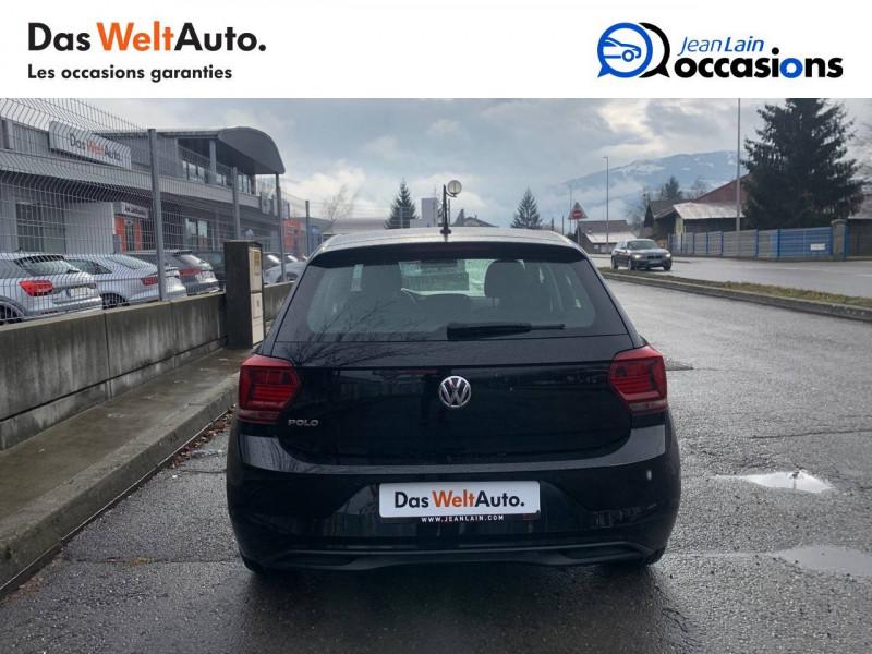 Volkswagen Polo VI Polo 1.0 TSI 95 S&S DSG7 Confortline 5p Noir occasion à Sallanches - photo n°6