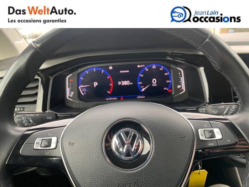 Volkswagen Polo VI Polo 1.0 TSI 95 S&S DSG7 Confortline 5p Noir occasion à Sallanches - photo n°12