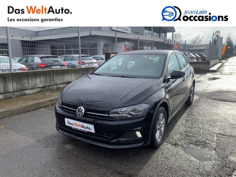 Volkswagen Polo VI Polo 1.0 TSI 95 S&S DSG7 Confortline 5p Noir occasion à Sallanches