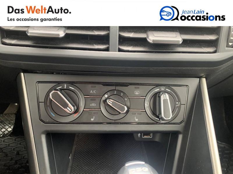 Volkswagen Polo VI Polo 1.0 TSI 95 S&S DSG7 Confortline 5p Noir occasion à Sallanches - photo n°14