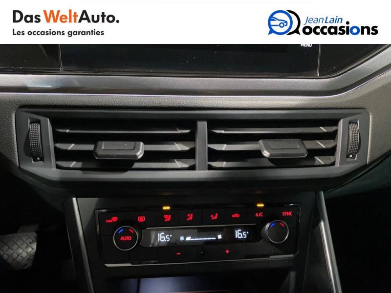 Volkswagen Polo VI Polo 1.0 TSI 95 S&S DSG7 Copper Line 5p Noir occasion à Seynod - photo n°14