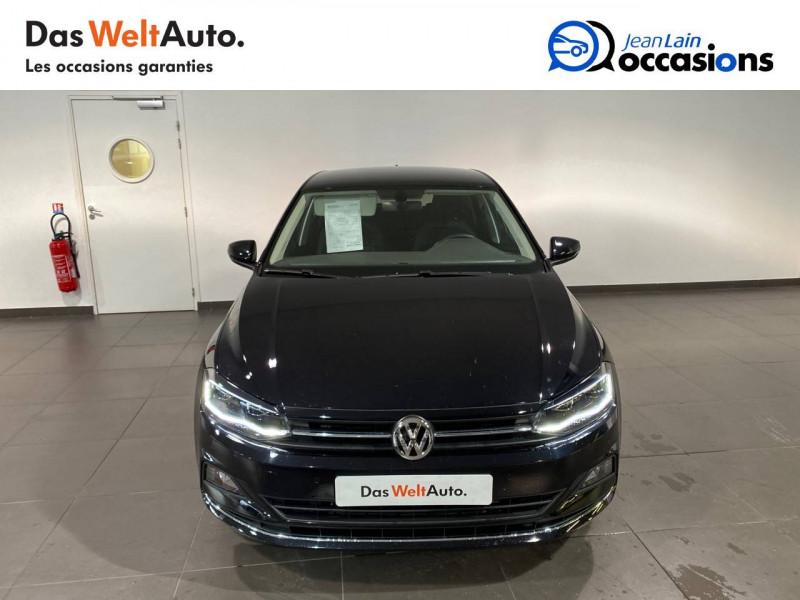 Volkswagen Polo VI Polo 1.0 TSI 95 S&S DSG7 Copper Line 5p Noir occasion à Seynod - photo n°2