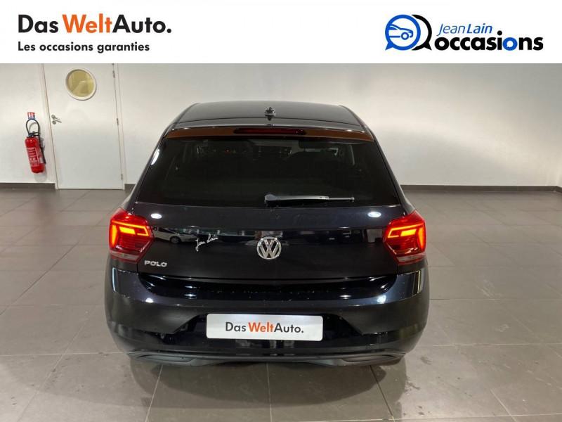 Volkswagen Polo VI Polo 1.0 TSI 95 S&S DSG7 Copper Line 5p Noir occasion à Seynod - photo n°6