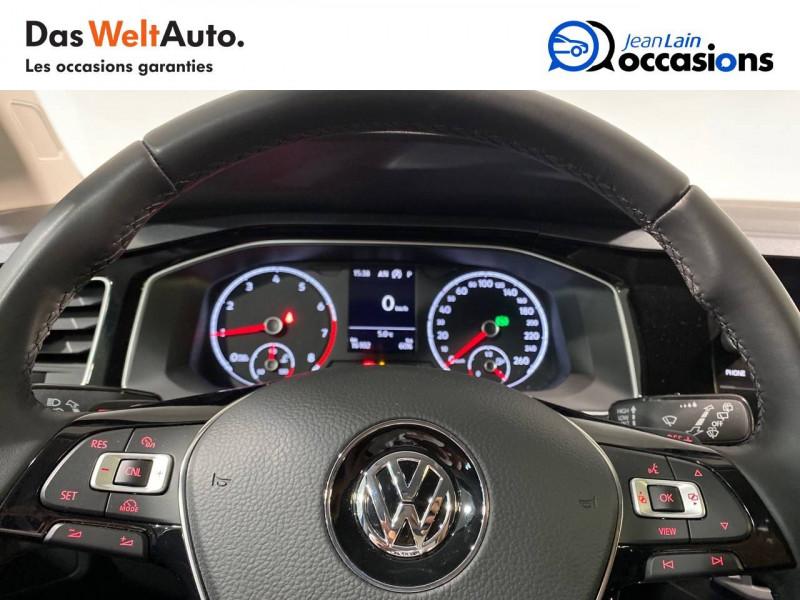Volkswagen Polo VI Polo 1.0 TSI 95 S&S DSG7 Copper Line 5p Noir occasion à Seynod - photo n°12