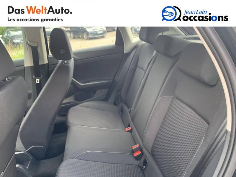 Volkswagen Polo VI Polo 1.0 TSI 95 S&S DSG7 Lounge 5p Noir occasion à Cessy - photo n°17
