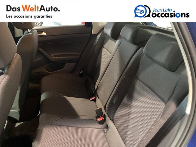 Volkswagen Polo VI Polo 1.0 TSI 95 S&S DSG7 Lounge 5p Bleu occasion à Seynod - photo n°17