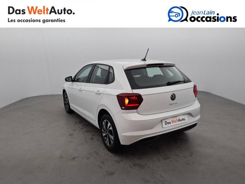 Volkswagen Polo VI Polo 1.0 TSI 95 S&S DSG7 Lounge 5p Blanc occasion à La Motte-Servolex - photo n°7