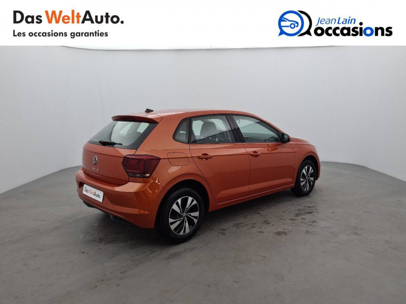 Volkswagen Polo VI Polo 1.0 TSI 95 S&S DSG7 Lounge 5p Orange occasion à La Motte-Servolex - photo n°5