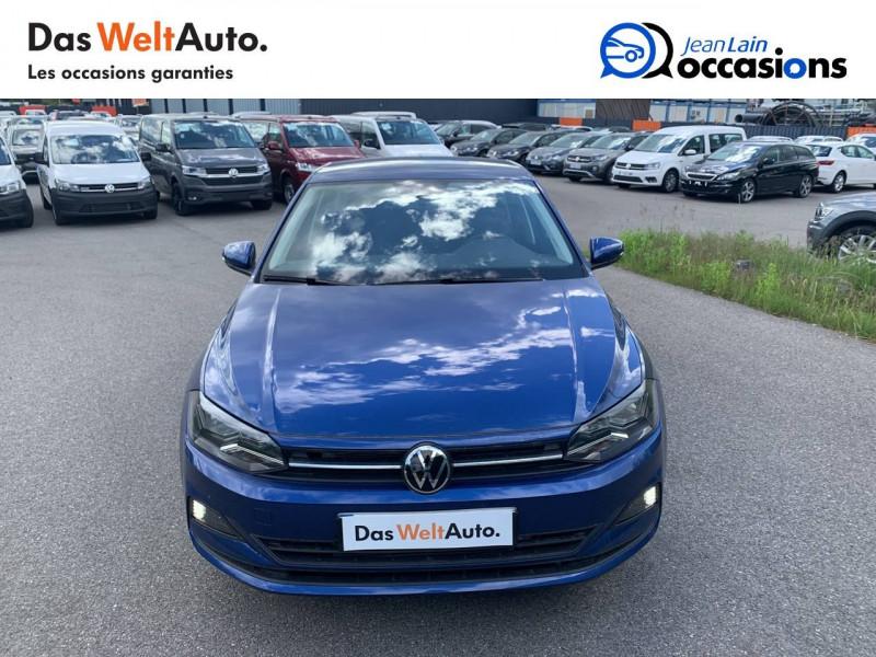 Volkswagen Polo VI Polo 1.0 TSI 95 S&S DSG7 Lounge 5p Bleu occasion à Cessy - photo n°2