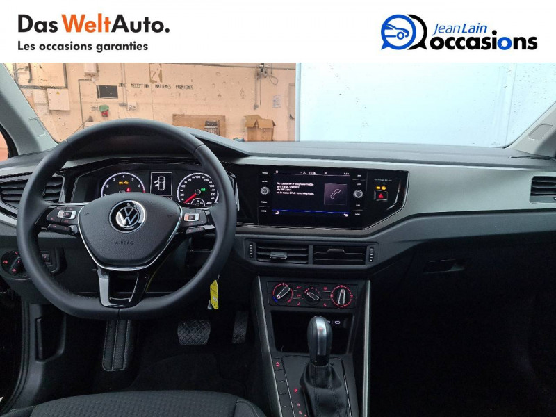 Volkswagen Polo VI Polo 1.0 TSI 95 S&S DSG7 Lounge 5p Noir occasion à La Motte-Servolex - photo n°18