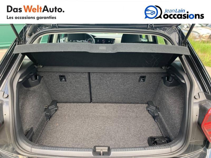Volkswagen Polo VI Polo 1.0 TSI 95 S&S DSG7 Lounge 5p Noir occasion à Cessy - photo n°10