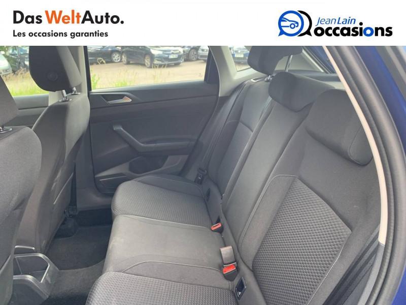 Volkswagen Polo VI Polo 1.0 TSI 95 S&S DSG7 Lounge 5p Bleu occasion à Cessy - photo n°17