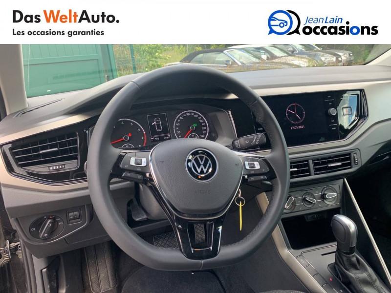 Volkswagen Polo VI Polo 1.0 TSI 95 S&S DSG7 Lounge 5p Noir occasion à Cessy - photo n°12