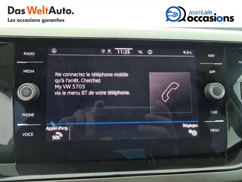 Volkswagen Polo VI Polo 1.0 TSI 95 S&S DSG7 Lounge 5p Blanc occasion à La Motte-Servolex - photo n°16