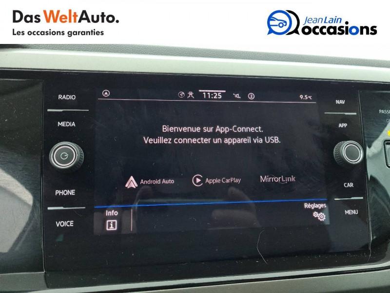 Volkswagen Polo VI Polo 1.0 TSI 95 S&S DSG7 Lounge 5p Blanc occasion à La Motte-Servolex - photo n°15