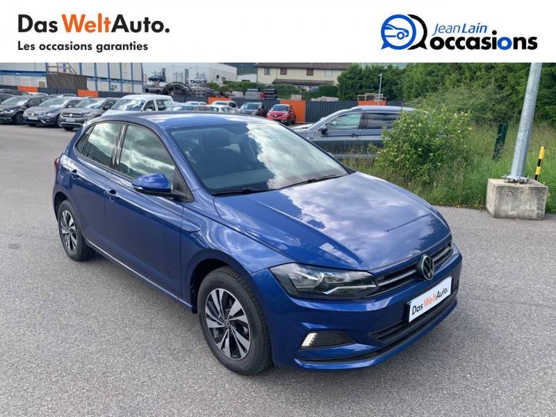 Volkswagen Polo VI Polo 1.0 TSI 95 S&S DSG7 Lounge 5p Bleu occasion à Cessy - photo n°3