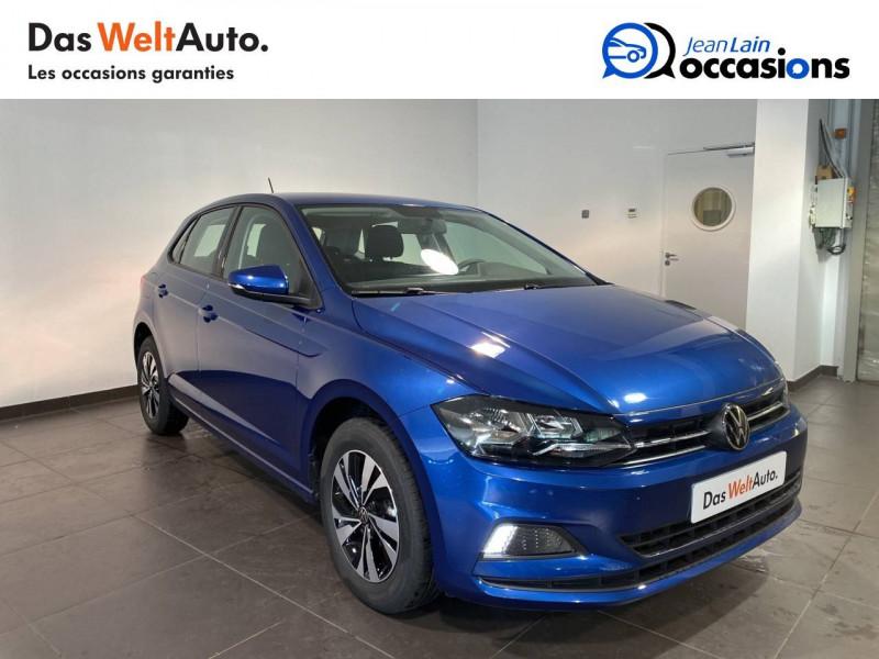 Volkswagen Polo VI Polo 1.0 TSI 95 S&S DSG7 Lounge 5p Bleu occasion à Seynod - photo n°3