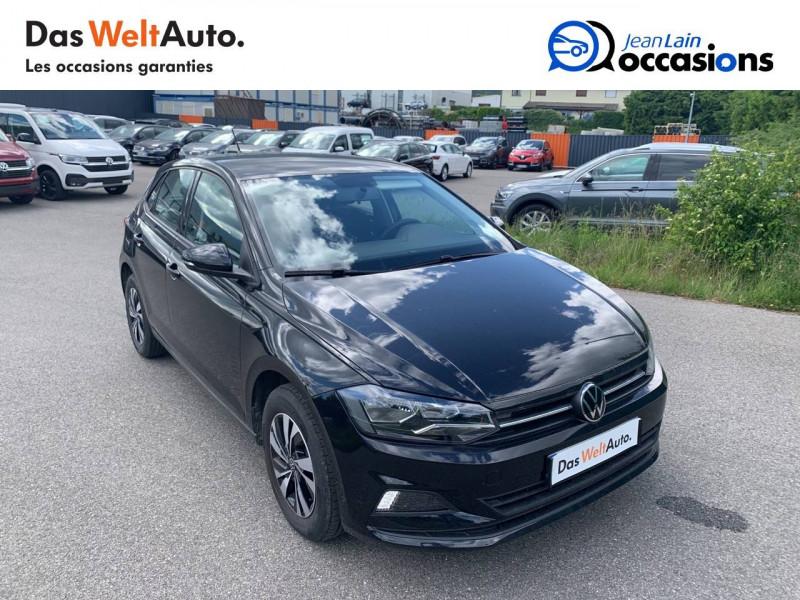 Volkswagen Polo VI Polo 1.0 TSI 95 S&S DSG7 Lounge 5p Noir occasion à Cessy - photo n°3