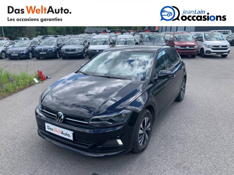 Volkswagen Polo VI Polo 1.0 TSI 95 S&S DSG7 Lounge 5p Noir occasion à Cessy